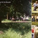 historie HV De Burght, foto's, albums, hondenvereniging, Maastricht, Borgharen, puppycursus, hondencursus,
